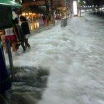 Heavy el aguaje en Salinas!!!! Foto: @Panchot23 http://t.co/4JrOEQklWm