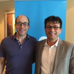 .@SMART_facility Research Director Pascal Perez & @twitter CEO @dickc catchup in Jakarta to talk @petajkt http://t.co/DWEmpxY1EX