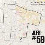 Malam ini pukul 19.00 WIB, ada Jogja Last @Friday_Ride #JLFR59, start di Kridosono, peta rute >> http://t.co/rlN9lI9xQA Tetap tertib ya :D