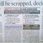 BRT corridor will be scrapped. Delhi CM @ArvindKejriwal to look for alternative plans. Formal notification soon. Thx http://t.co/GKsj5ZE7wP
