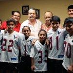 Estos jovenes de #Tabasco se trajeron el noveno lugar nacional de su categoria torneo NFL Mexico, Felicidades!!! http://t.co/Q3pWKcvMKP