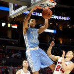 4 UNC takes 33-31 lead into locker room vs 1 Wisconsin. Brice Johnson leads Tar Heels with 8 points at halftime. http://t.co/jMKe3gSlVM