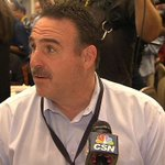 58 minutes and 21 seconds of  #49ers head coach Jim Tomsula at #NFL owners meetings.  WATCH: http://t.co/NzZ7lv49Wy http://t.co/EDvhCLNCUP
