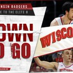 BADGERS MOVE ON! Sam Dekker drops 23 and 10 to lead Wisconsin into #Elite8 with 79-72 win over UNC. #UNCvsWIS http://t.co/6VDBSbbE6c