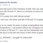 "AAP MP Dharamvir Gandhi speaks out-""BEWARE ALL AAPIANS Struggle for United AAP"" http://t.co/8MmcVAB37g #BlackDay4AAP http://t.co/Exg6z0x2yO"