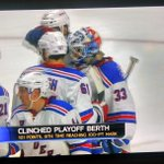 In the Playoffs baby!!! #NYR @NYRangers http://t.co/jpOrTrfjJH