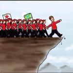#BrasilComDilma Indo para o precipício..... !!!! kakakakakakakaka http://t.co/Lq0a4Gf0vF