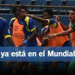 #Ecuador aseguró su puesto en el Mundial sub-17 ¡Felicidades Selección! http://t.co/sof7RcFVI9 / http://t.co/UVV2N4uv5R