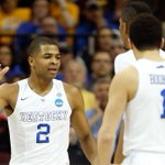 One way to look at Kentuckys dominant 1st half: • Harrison twins: 20 Pts • West Virginia: 18 Pts http://t.co/z1Rfot8CFO