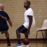 Kanye playing better basketball than West Virginia University http://t.co/HN9HgJC9BY