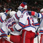 RECAP: #NYR earn playoff check mark after 5-1 rout of Senators; full story: http://t.co/9VAi7DZzcP http://t.co/5GfkT7oQVj