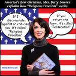 If a True Christian™ discriminates against you its FREEDOM. If you return the favor its PERSECUTION #BoycottIndiana http://t.co/P45D7dhr0x