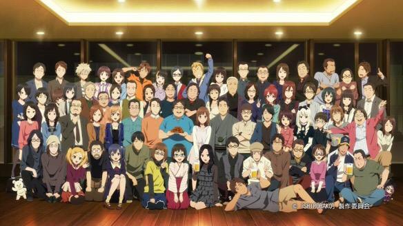 SHIROBAKO最終回ほんと素晴らしい作品だった。平岡の笑顔も最高だけどやっぱずかちゃんが出てくるたびに泣いた。絵麻た