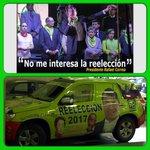 """""""No me interesa la reelección"""" (Solo permito que hagan campaña ilegalmente desde ahora). #HablandoHuevadasComoElMashi http://t.co/bDvGJMrnot"""