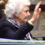 Tamie Fraser bids final farewell to her husband of 60 years at his State Funeral. As always she was stoic, dignified. http://t.co/yxIHy7oD7l