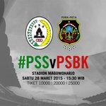 [UJICOBA] H-1 #PSSday @PSSleman vs @ForzaPSBK, Sabtu 28 Maret 2015. Stadion Maguwoharjo, 15:30. http://t.co/wJaG6MmEkQ