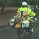 New uses for the police motorcycle.. http://t.co/uVJgEmV5U5 via @MartKihika