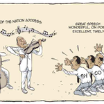 EDITORIAL CARTOON: Until we see prosecutions. Great speech, thats all via @ndula_victor #ListOfShame #SOTN #TheLead http://t.co/XuVmTfD1HK