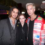 Cute couple @zoeydeutch and @jogia meet up with @jaredeng at the #JJTBTParty presented by @monsterhigh! #ad http://t.co/jl4LHyUQSR