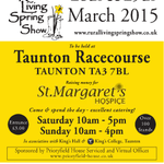 This weekend: The Rural Living Spring Show at Taunton Racecourse http://t.co/GkLt8Ta5dQ