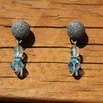 Blue earrings for women blue earring aqua blue by JabberDuck http://t.co/AVyjfnCGU3 http://t.co/VCLL2lZgvA