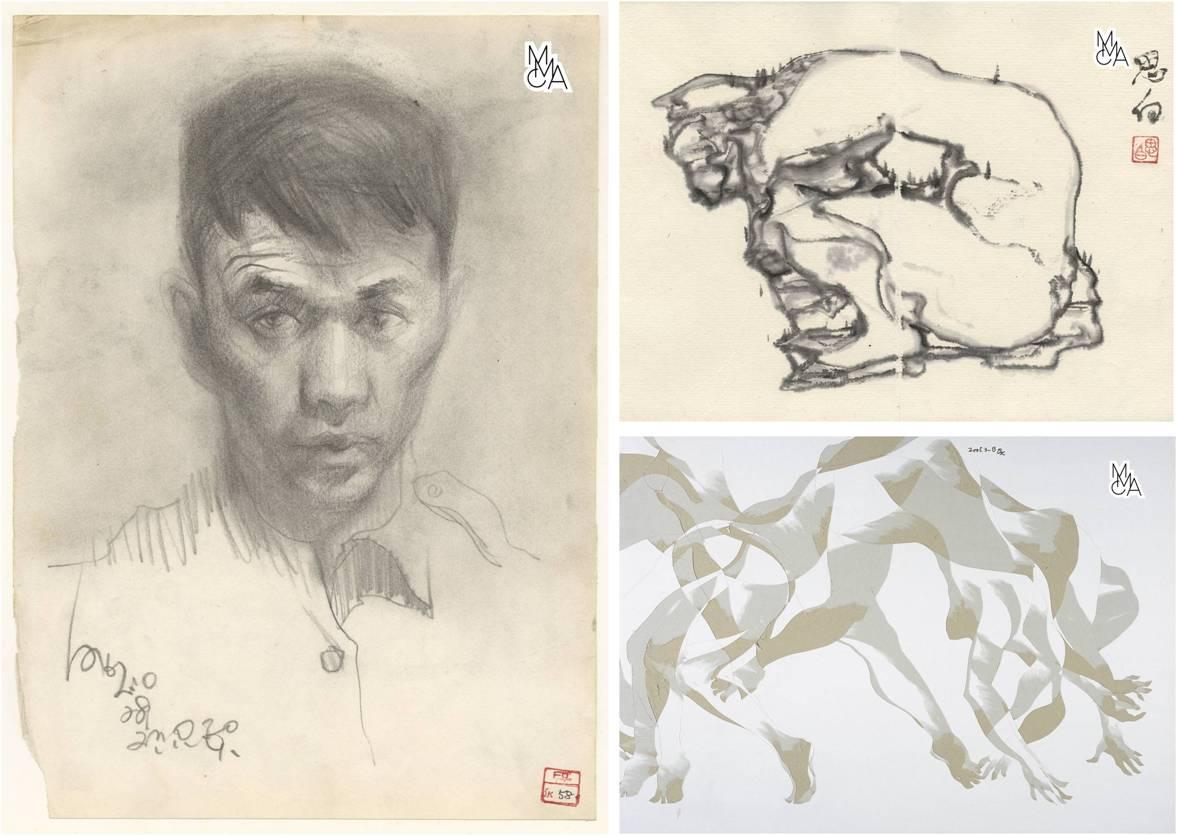 #MuseumWeek 작가 정탁영의 뛰어난 소묘력을 보여주는 인물스케치와 인물드로잉 & 2000년대 칼그림까지! 덕수궁미술관에서 지금 만나 볼수있답니다! #PosMW http://t.co/cWgvSTJMka