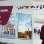 "Adverts for Germanwings with slogan ""get ready to be surprised"" are removed from the Tube http://t.co/gR3vWmEGFp http://t.co/Ukl9hqK4NF"