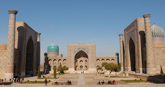 Uzbekistan captures the imagination like almost nowhere ttot else