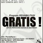 1 April 2015, @RumahCemara Buka Program Rehabilitasi Gratis Untuk Pengguna Napza di Indonesia http://t.co/At0Dsjxe48 http://t.co/0sWiegcJ7x