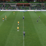 Ready for the 2nd half at @AAMIPark. Come on Melbourne! #MVCvCCM 1-1 #MVFC http://t.co/TYlbwA5r6c
