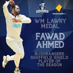 .@bachaji23 has won his first ever Bill Lawry Medal for best Shield player! #vicsdoitbetter http://t.co/YVrojYJXrJ