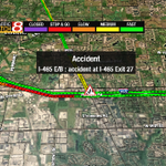 #Indy #Traffic NW ACCIDENT I-465 EB near Michigan Road. Multiple lanes blocked. Backup to 86th st. @WISH_TV http://t.co/JnDr0fdEOX