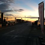 The sun rises over St. Pete. Happy Friday, its race day. @GPSTPETE http://t.co/0tCOcsnNP8