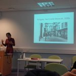 Dr Kate Hill representing @ULHistory and @unilincoln at #UHG2015 http://t.co/4XAiicf2Y4