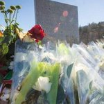 Makeshift memorial at closest point families can get to #Germanwings crash site http://t.co/nq8RJq3Qhc http://t.co/jk5M2AaTRu