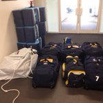 Away day packing ????????@leedsrhinos #fewbags! http://t.co/2QFpIsNNRt