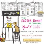 .@OnlyInBOS were at it again! Well be at the @southendbuttery offering photos w/ the Easter Bunny all for charity! http://t.co/EuxE4FB9V6