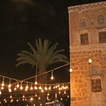Wedding lights in Old Sanaa. 2009. Posting photos today of my two years in Yemen. http://t.co/f4kbVkudO1