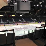 Only 13 more hours until puck drop.... Live at the Brandt Centre all morning setting up Game 1 between Pats & Broncos http://t.co/YrQCF5nsyQ