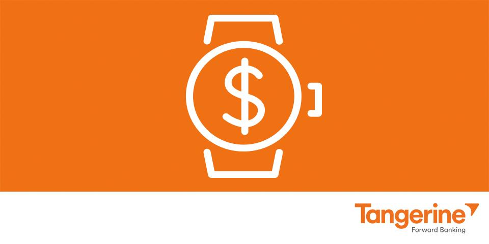 Banking with a flick of the wrist! Tangerine is excited to be one of the first apps on Apple Watch. #TimeisMoney http://t.co/iCS2MIdiUR