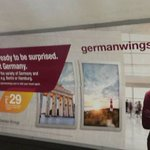 #Germanwings have pulled these adverts from the Tube http://t.co/pLuzPoLg98 http://t.co/5oKaQm5LNU