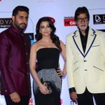 At the HT style awards last night. Thank you Hindustan Times for voting Aishwarya and I as