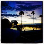 The sunrise over the #StPete Grand Prix track looking towards turn ten http://t.co/6JUQ7uHZEy by @DirkShadd http://t.co/UYpcjCqKqt