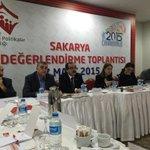 ASP Bakanımız Sn. Ayşenur İslam ın başkanlığında Sakarya Değerlendirme Toplantısına başladık. http://t.co/3ik1RJIJO4