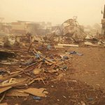 "WARNING GRAPHIC RT @HussainBukhaiti: civilian casualty in Saudi/USled airstrike ona market in ESadda by saudi border http://t.co/qmI4wzzacy"""