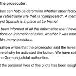 Jeśli chodzi o informowanie rodzin ofiar katastrofy Germanwings, A.Macierewicz ma rację - były informowane wcześniej http://t.co/6tjlFsUUzc