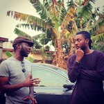 Behind the scenes with @PAPPYKOJO during @RedRedGH video shoot for Ghetto feat. @sarkodie... #fantiboys http://t.co/wgQxfh4ZiX