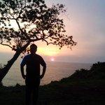 #jogja senja di pantai kesirat gunung kidul http://t.co/wVNqvFjbgy -@landunkpambudi