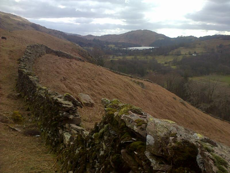 Nice views over #Grasmere from the path up Helm Crag this morning... http://t.co/hgd2yKIl01