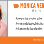 We're thrilled to announce our endorsement of @MonicaVernon for #IA01 today! http://t.co/cmcQ4qCWry http://t.co/VbrvTmrJEQ